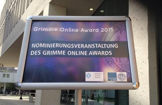 Grimme Online Award 2015