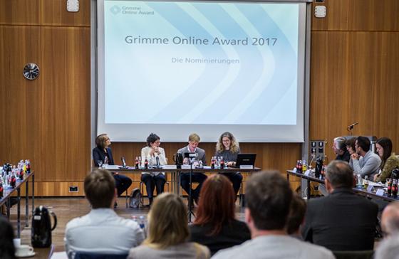 Grimme Online Award 2017: Die Nominierten