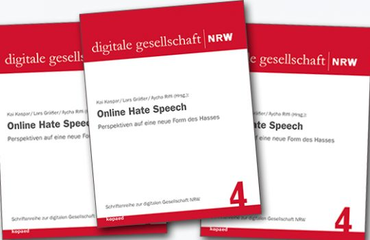 """Online Hate Speech"": neue Publikation"