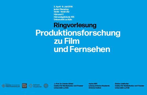 Ringvorlesung: Produktionsforschung